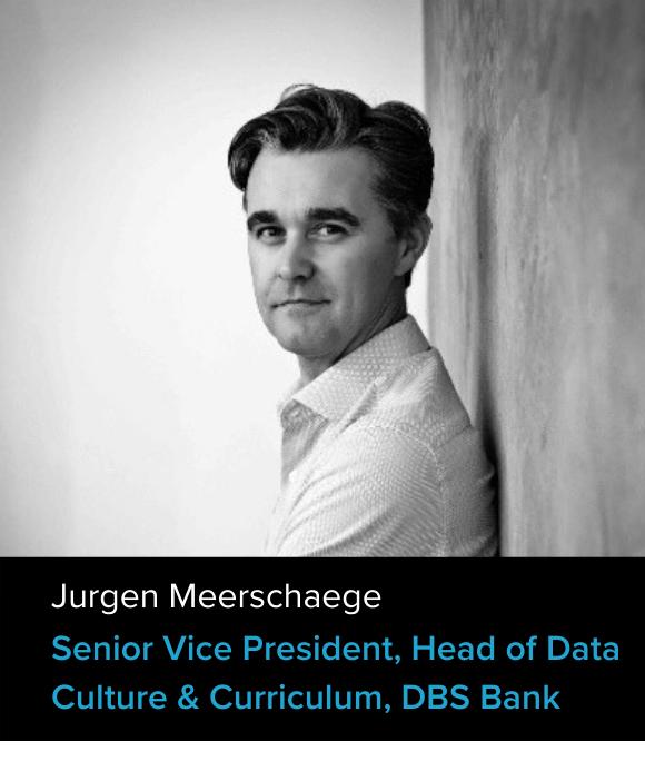 Jurgen Meerschaege, Senior Vice President, Head of Data Culture & Curriculum,